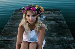 Summer portrait Stock Image