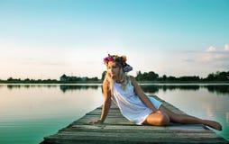 Summer portrait Stock Photography