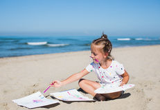 Summer portrait Royalty Free Stock Images