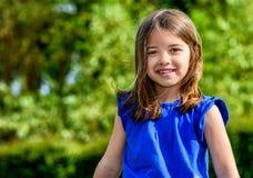 Summer portrait of happy cute child Stock Photo
