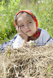 Summer portrait of little girl Stock Image