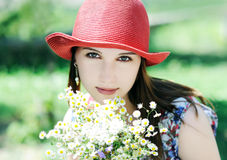 Summer portrait Royalty Free Stock Photo