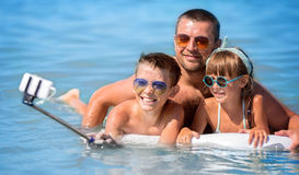Summer portrait, vacation concept Royalty Free Stock Photos