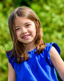 Summer portrait of young cute child Stock Photography