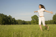 Summer positivity Royalty Free Stock Image