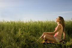 Summer positivity Royalty Free Stock Photo
