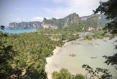 Summer postcard from Thailand. Stock Image