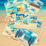 Summer Postcards royalty free stock photo