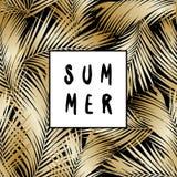 Summer Poster Design Stock Photo