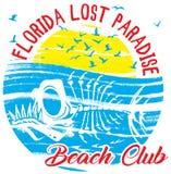 Summer poster Florida Stock Photos