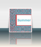 Summer poster. summer background. Effects poster, frame. Happy holidays card, Enjoy your summer Royalty Free Stock Photography