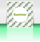 Summer poster. summer background. Effects poster, frame. Happy holidays card, Enjoy your summer Royalty Free Stock Photo