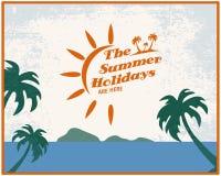 Summer poster Stock Photos