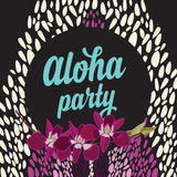 Summer poster.Typography vector. Royalty Free Stock Photos