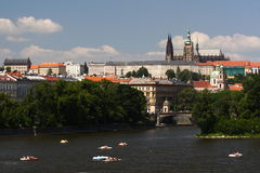 Summer in Prague Royalty Free Stock Photography