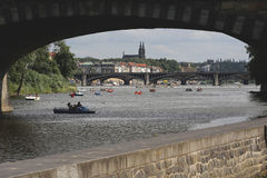Summer in Prague royalty free stock photo