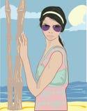 Summer pretty girl Stock Image
