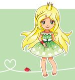 Summer princess (Fairy series 3) Stock Image