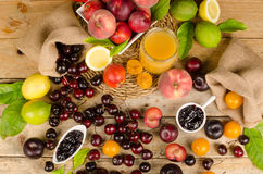 Summer produce Royalty Free Stock Photography