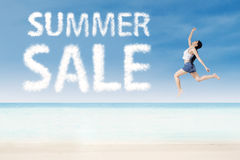 Summer promotion concept Royalty Free Stock Photo
