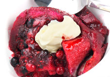 Summer pudding Royalty Free Stock Photos