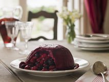 Summer Pudding Royalty Free Stock Images