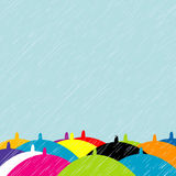 Summer rain Royalty Free Stock Image