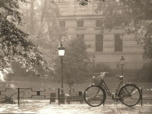 Free Summer Rain In Sepia Stock Images - 2649944