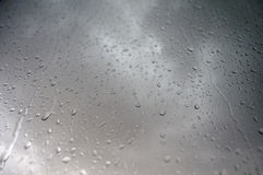 Summer rain through the window Royalty Free Stock Photography