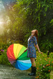 Summer rain Stock Image
