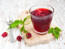 Summer Raspberry drink Royalty Free Stock Photography