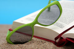 Summer reading Stock Images