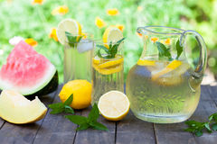 Summer refreshment Royalty Free Stock Photo
