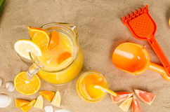 Summer refreshment Stock Photography
