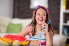 Summer refreshment. Royalty Free Stock Photography