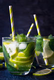 Summer refreshment Stock Photos