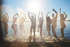 Summer refreshment Royalty Free Stock Images