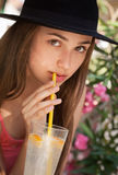 Summer refreshments. Stock Photo
