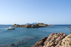 Summer Relax. Tipical view of summer holidays in Sardinia Stock Photography