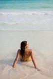 Summer relax at the beach Stock Photos