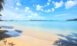 Summer on the relax beach, Thailand Stock Photography