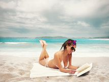 Summer relax Royalty Free Stock Images