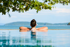 Summer relax and vacation in Thailand Stock Image