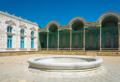 The summer residence of Emir of Bukhara. Stock Images