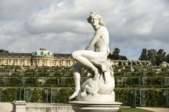 Summer residence of German kings Royalty Free Stock Photo