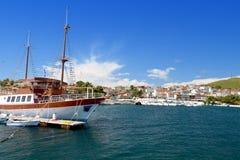 Summer resort in Greece Stock Images