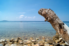 Summer resort of Halkidiki peninsula Royalty Free Stock Images