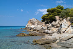 Summer resort of Halkidiki peninsula Stock Photo