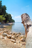 Summer resort of Halkidiki peninsula Royalty Free Stock Photos