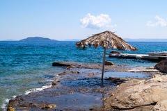 Summer resort of Halkidiki peninsula Stock Photography